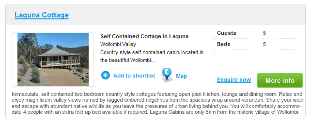 Laguna Holiday Cottage
